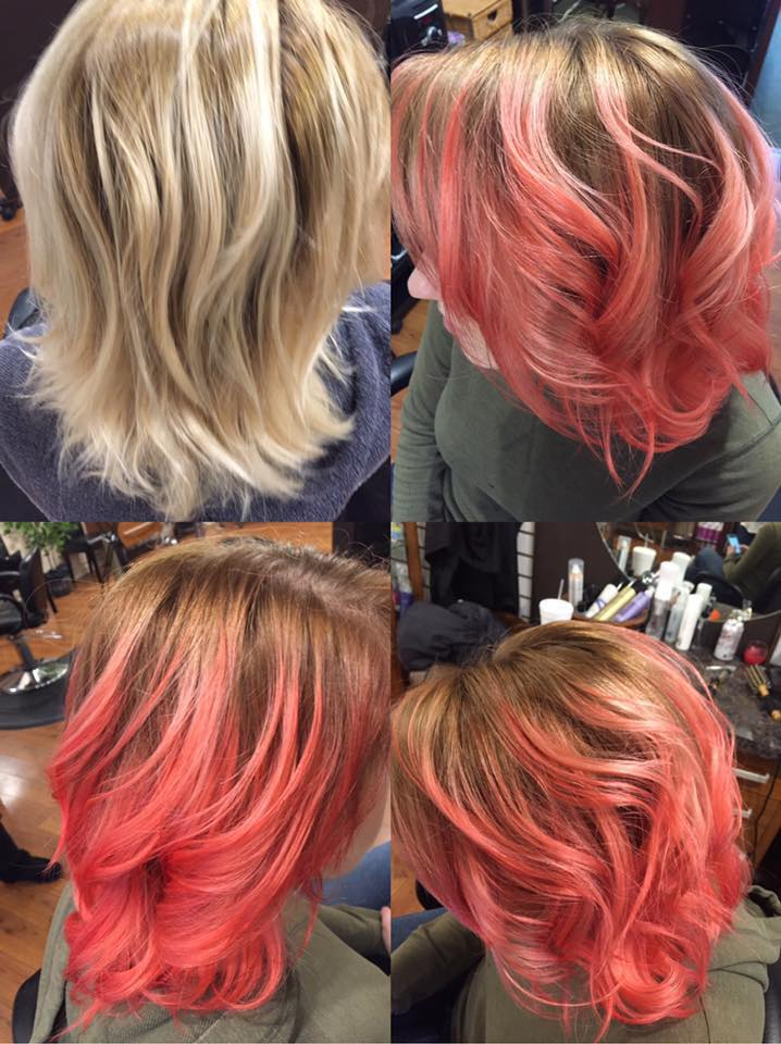 Spring Berry Hair Color